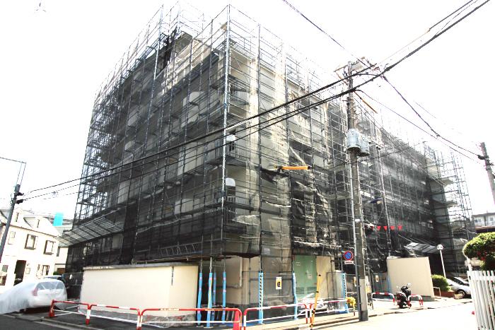 西赤羽グリーンハイツ208号室 家具付 大規模修繕中