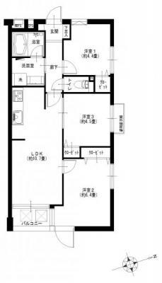 サラータ赤塚201号室