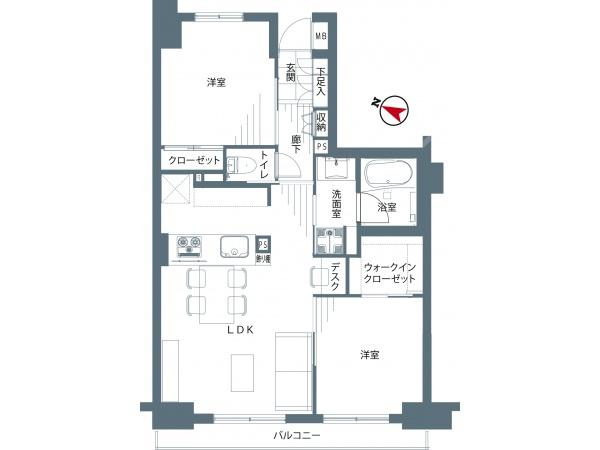 石神井台ガーデニア弐番館205号室