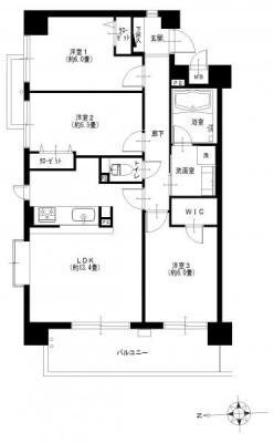 コンフォート・パレス練馬高野台405号室