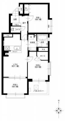 マーランド貫井206号室